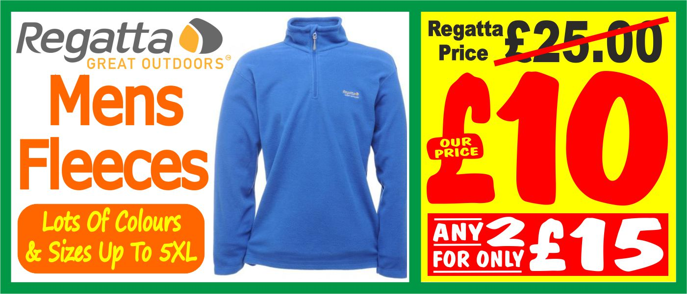 regatta mens fleece